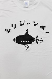 YSM FISHING CLUB COOL DRI L/S TEE ツリジャンキー  【WHT】