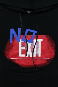 RENOWNED LA No Exit HOODIE【BLK/RED/BLU】