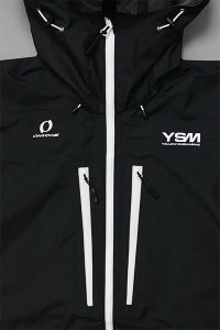 YSM FISHING CLUB ツリジャンキー WATERPROOF JACKET 【BLK/WHT】