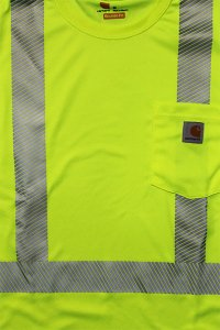 <img class='new_mark_img1' src='//img.shop-pro.jp/img/new/icons16.gif' style='border:none;display:inline;margin:0px;padding:0px;width:auto;' />Carhartt FORCE HIGH VISIBILITY L/S POCKET TEE 【N.YEL】