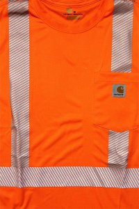 <img class='new_mark_img1' src='//img.shop-pro.jp/img/new/icons16.gif' style='border:none;display:inline;margin:0px;padding:0px;width:auto;' />Carhartt FORCE HIGH VISIBILITY L/S POCKET TEE 【N.ORG】
