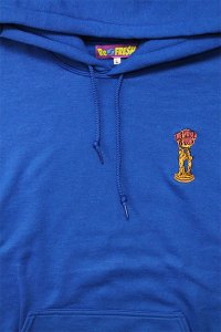 RE-FRESH 1P PULL HOODIE THE WORLD IS YOURS 【BLU】