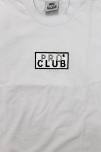 PROCLUB LIMITED HEAVY WEIGHT L/S TEE BOX LOGO 【WHT】