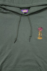 RE-FRESH 1P PULL HOODIE THE WORLD IS YOURS 【OLV】