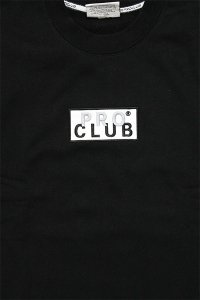 <img class='new_mark_img1' src='//img.shop-pro.jp/img/new/icons16.gif' style='border:none;display:inline;margin:0px;padding:0px;width:auto;' />PROCLUB LIMITED HEAVY WEIGHT CREW SWEAT BOX LOGO 【BLK】