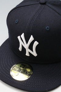 NEWERA 59fifty NEWYORK YANKEES SUBWAY SERIES【NVY/WHT】