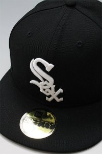 NEWERA 59fifty WHITE SOX 2005 WORLD SERIES【BLK/WHT】