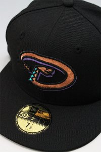 NEWERA 59fifty DIAMOND BACKS 2001 WORLD SERIES【BLK/COP】