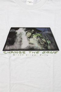THROW BACK 2000 L/S TEE CHANGE THE GAME 【WHT】