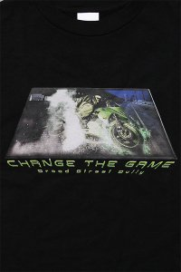 THROW BACK 2000 L/S TEE CHANGE THE GAME 【BLK】