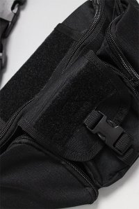 ROTHCO TACTICAL WAIST BAG 【BLK】