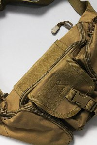 ROTHCO TACTICAL WAIST BAG 【C.BRN】