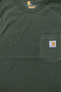Carhartt FORCE POCKET S/S TEE 【OLV】