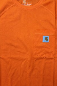 Carhartt FORCE POCKET S/S TEE 【ORG】