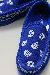 TROOPER HOUSE SHOES BANDANA【BLU】