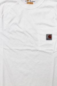 Carhartt FORCE POCKET S/S TEE 【WHT】