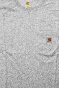 Carhartt FORCE POCKET S/S TEE 【L.GRY】