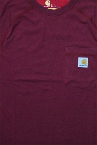 Carhartt FORCE POCKET S/S TEE 【BUR】