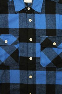 ROTHCO L/S HEAVY FLANNEL SHIRTS【BLU/BLK】