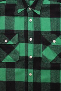 ROTHCO L/S HEAVY FLANNEL SHIRTS【GRN/BLK】