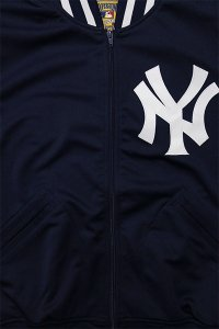 MITCHELL&NESS AUTHENTIC BATTING JERSEY TOP YANKEES【NVY/WHT】