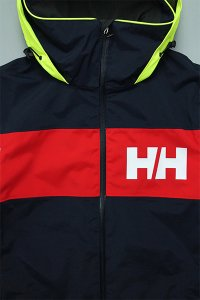 HELLY HANSEN SALT FLAG JACKET  【NVY/RED】