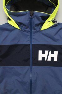 HELLY HANSEN SALT FLAG JACKET  【L.NVY/N.YEL】