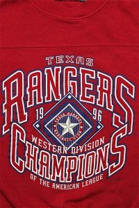 <img class='new_mark_img1' src='https://img.shop-pro.jp/img/new/icons16.gif' style='border:none;display:inline;margin:0px;padding:0px;width:auto;' />VINTAGE MLB CREW SWEAT RANGERS【RED】