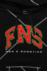 <img class='new_mark_img1' src='https://img.shop-pro.jp/img/new/icons16.gif' style='border:none;display:inline;margin:0px;padding:0px;width:auto;' />40s&Shorties HIGHER LEARNING PULL HOODIE 【BLK】