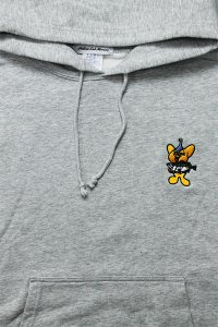 YSM EXCLUSIVE 1P FISHING CHARACTER HOODIE 【GRY】