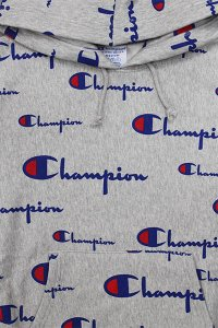 Champion REVERSE WEAVE PULL HOODIE LOGO【GRY】