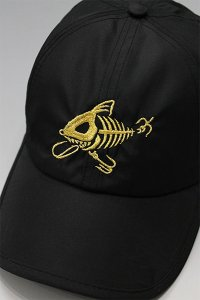 YSM×HANDMADE NYLON SKELETON LOW CAP  【BLK/GLD】