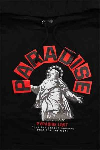 <img class='new_mark_img1' src='https://img.shop-pro.jp/img/new/icons16.gif' style='border:none;display:inline;margin:0px;padding:0px;width:auto;' />PARADISE LOST HOODIE STATUE OF PARADISE【BLK/RED】