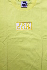 PROCLUB LIMITED HEAVY WEIGHT S/S TEE BOX LOGO 【PASTEL YEL】
