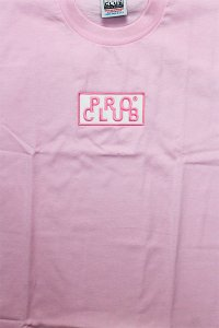PROCLUB LIMITED HEAVY WEIGHT S/S TEE BOX LOGO 【PASTEL PINK】