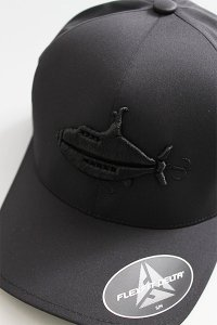 ツリジャンキー WATERPROOF LOGO CAP 【BLK】