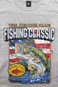 ツリジャンキー S/S TEE FISHING CLASSIC  【GRY】