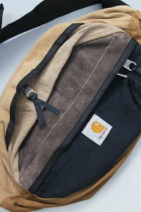 YSM EXCLUSIVE REMAKE Carhartt WAIST BAG BIG【BRN】