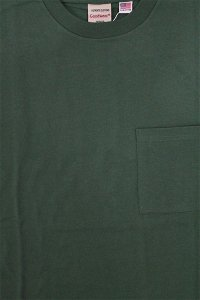 Goodwear SUPER HEAVY WEIGHT POCKET TEE【D.GRN】