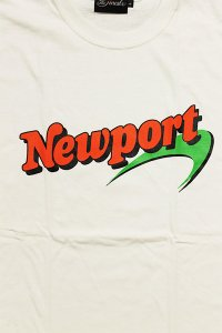 THE FINEST NEWPORT S/S TEE【WHT】