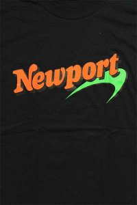 THE FINEST NEWPORT S/S TEE【BLK】