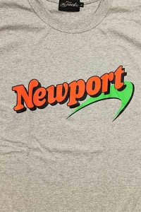 THE FINEST NEWPORT S/S TEE【GRY】