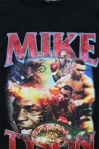THE FINEST MIKE TYSON S/S TEE 01【BLK】