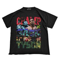 THE FINEST MIKE TYSON S/S TEE 02【BLK】