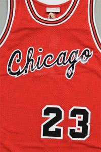 MITCHELL&NESS AUTHENTIC JERSEY BULLS 1984-85 JORDAN【RED/BLK】