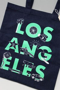 <img class='new_mark_img1' src='https://img.shop-pro.jp/img/new/icons16.gif' style='border:none;display:inline;margin:0px;padding:0px;width:auto;' />MAPTOTE LOS ANGELES TOTE BAG DENIM【IND/TIF】