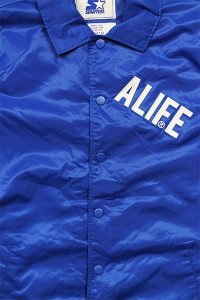<img class='new_mark_img1' src='https://img.shop-pro.jp/img/new/icons16.gif' style='border:none;display:inline;margin:0px;padding:0px;width:auto;' />ALIFE×STARTER COACH JACKET【BLU】