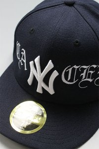 CANT CLOTHING CUSTOM NEWERA 59fifty LOW YANKEES【NVY】