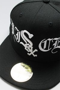 CANT CLOTHING CUSTOM NEWERA 59fifty WHITE SOX【BLK/WHT】