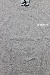FOR THE HOMIES L/S TEE SCARFACE【GRY】